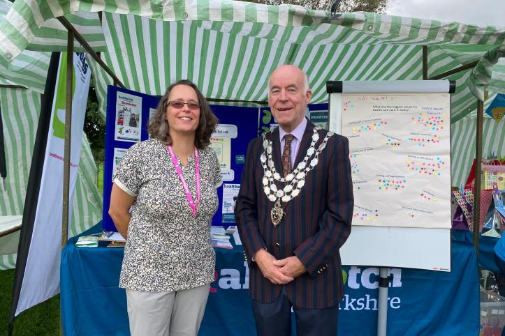 Ruth Stockdale Engagement Officer and Mayor