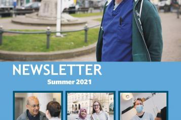 Report Cover Summer Newsletter